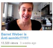 Karen Straughan calling a man antisemitic