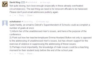 echofoxtrot doxxing detroit superintendent of schools