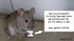 Mice Against Feminism!