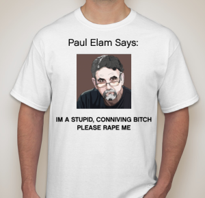 Paul Elam T shirt