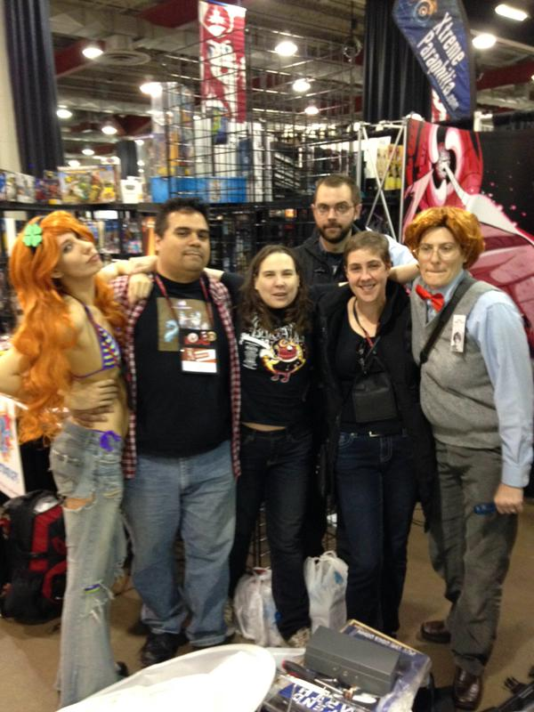 AVFM leaves calgary expo w straugn in tow