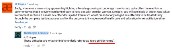 skeptic feminist toxic gender norms