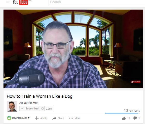 How to traim a woman like a Dog Elam