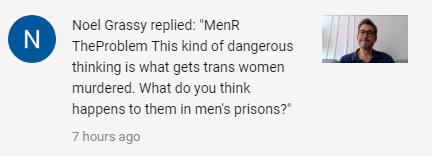 women are responsible for tranny's getting murdered